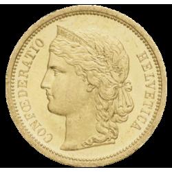 20 Francs Croix Suisse