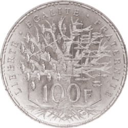 100 Francs Argent (1982 - ...)