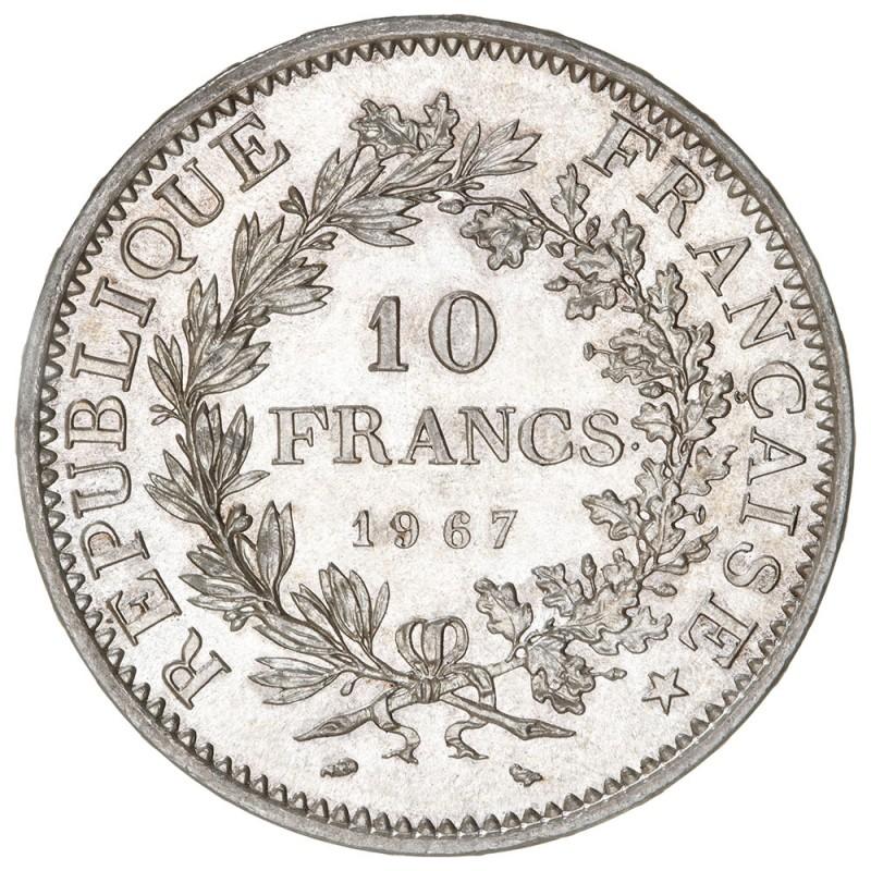 10 Francs Hercule (1964-1973)