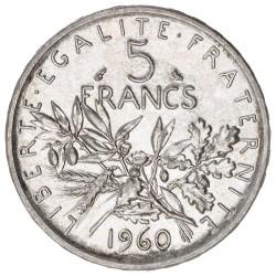 5 Francs Semeuse (1959-1969)